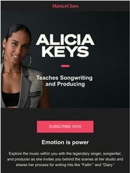 Masterclass: Alicia Keys Teaches Songwriting and Producing 2020