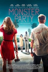 Monster Party (2018) 720p WEB-DL 700MB Ganool