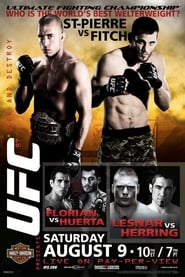 Poster UFC 87: Seek and Destroy 2008