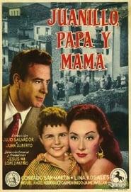 Juanillo, papá y mamá 1957
