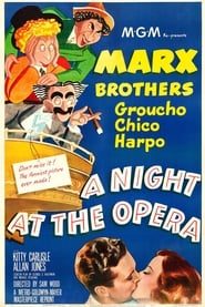 Poster A Night at the Opera 1935