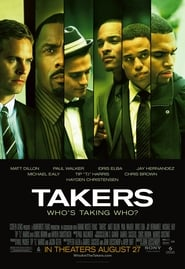Takers 2010 Movie BluRay Dual Audio Hindi Eng 300mb 480p 800mb 720p