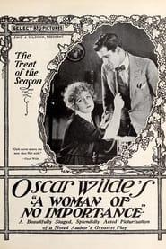 A Woman of No Importance 1921
