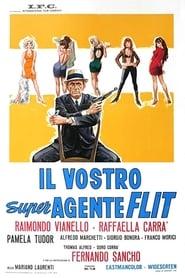 Poster Il vostro super agente Flit 1966