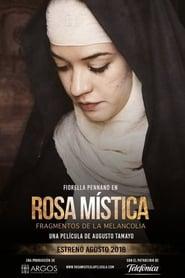 Poster Rosa Mística, fragmentos de la melancolía 2018