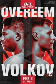 UFC Fight Night 184: Overeem vs. Volkov (2021)