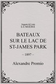 Bateaux sur le lac de St-James Park 1897