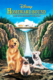 Poster Homeward Bound: The Incredible Journey 1993