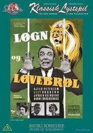 Løgn og løvebrøl plakat