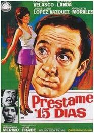 Préstame quince días (1971)