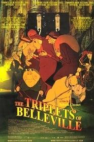 Poster The Triplets of Belleville 2003