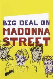 Poster Big Deal on Madonna Street 1958