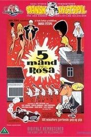 Affiche de Film 5 mand og Rosa