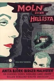 Poster Moln över Hellesta 1956