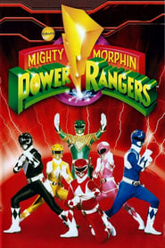 Poster Mighty Morphin Power Rangers 1996