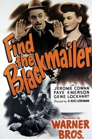 Find the Blackmailer 1943