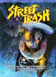 Poster Street Trash 1987