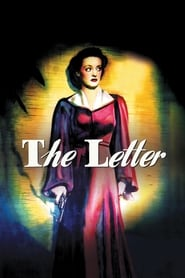 Poster The Letter 1940