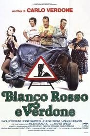 Poster Bianco, rosso e Verdone 1981