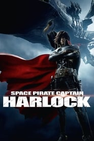 Poster Space Pirate Captain Harlock 2013
