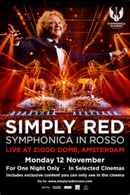 Poster Simply Red Symphonica In Rosso 2018