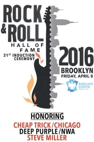 Rock and Roll Hall of Fame 2016 Induction Ceremony