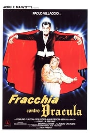 Poster Fracchia Against Dracula 1985