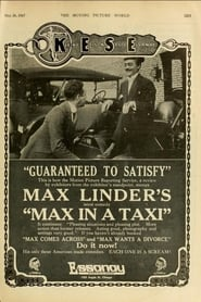 Max in a Taxi 1917