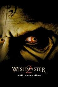 Poster Wishmaster 2: Evil Never Dies 1999