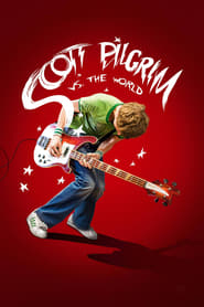 Poster for the movie, 'Scott Pilgrim vs the World'