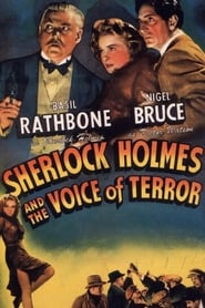 Poster Sherlock Holmes and the Voice of Terror 1942