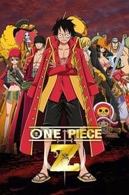 Poster One Piece Film: Z 2012