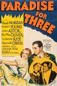 Poster Paradise for Three 1938
