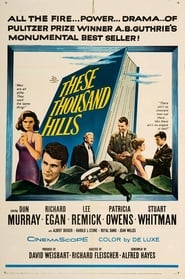 Poster These Thousand Hills 1959