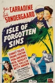 Poster Isle of Forgotten Sins 1943