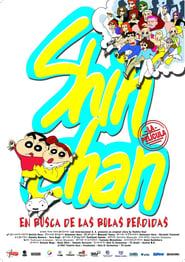Shin Chan en busca de las bolas perdidas