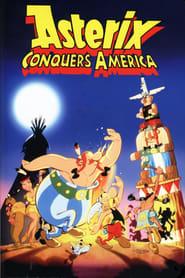 Poster Asterix Conquers America 1994