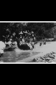 Baignade de chevaux 1896