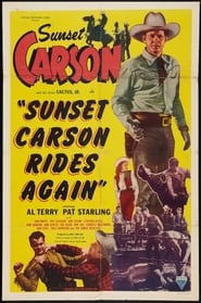 Sunset Carson Rides Again poster
