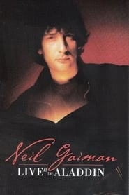 Poster of Neil Gaiman Live at the Aladdin