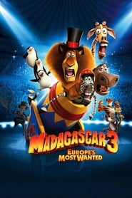 Poster for Madagascar 3: Europe's Most Wanted