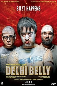 Delhi Belly 2011 Movie Original Hindi NF WebRip 300mb 480p 900mb 720p 3GB 5GB 1080p