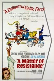 Poster A Matter of Resistance 1966