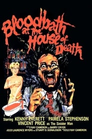 Poster Bloodbath at the House of Death 1984