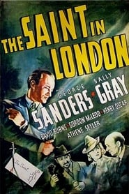 Poster The Saint in London 1939