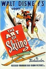 Jan Långben åker skidor