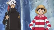 One Piece Dress Rosa Arc Episode 658 : A Big Surprise! A True Identity of the Toy Soldier!