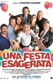 Poster Una festa esagerata