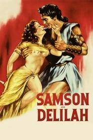 Poster Samson and Delilah 1949