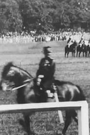 Revue à Longchamp: défilé de la Garde Républicaine et des pompiers